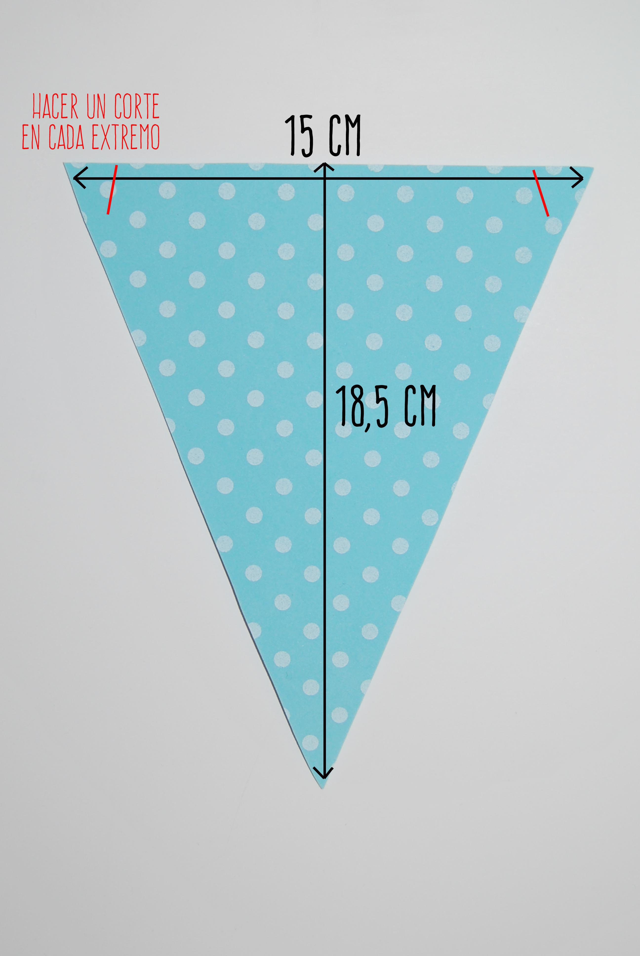 Guirnalda de banderines de goma eva quecacoqueta for Banderas decorativas para el jardin