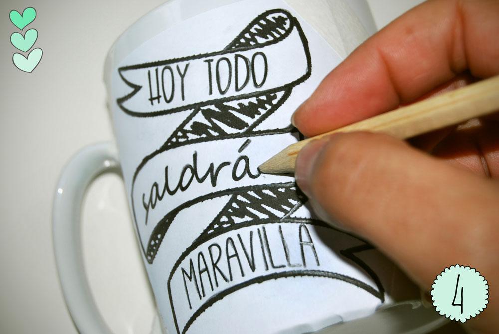 Haz tus propias tazas con mensajes quecacoqueta - Decorar tazas con rotulador permanente ...
