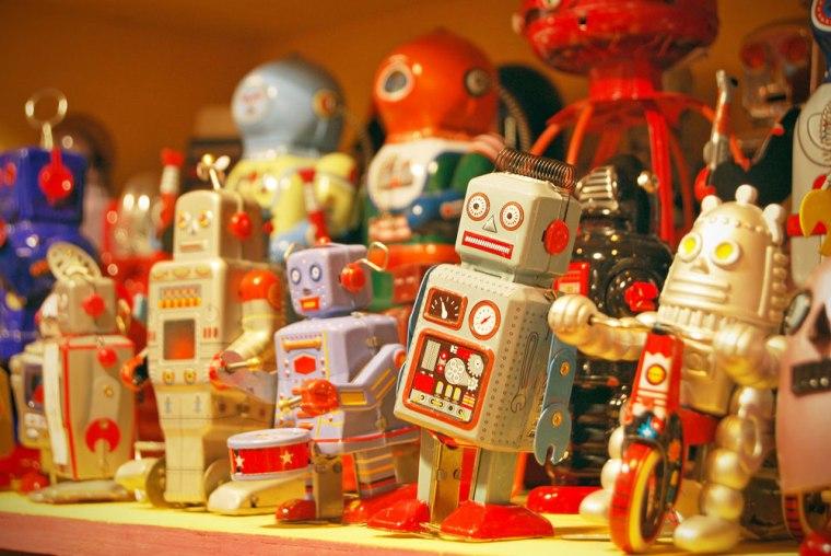 Robots populares en Japón desde los años 50.