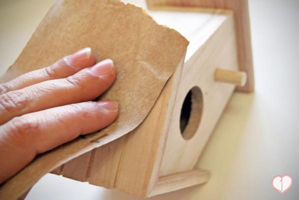 Decortar casitas de pájaro