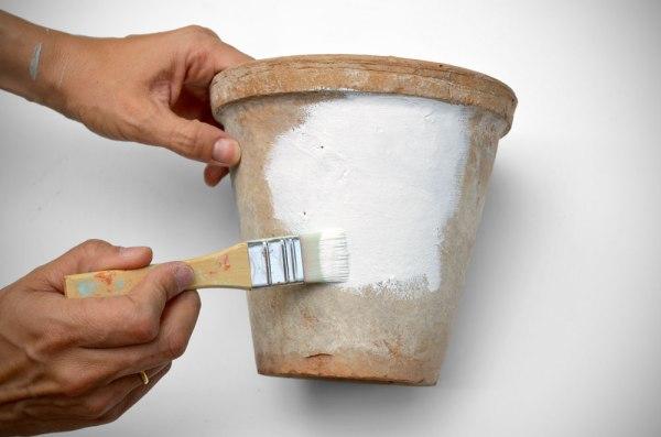 DIY: Macetas de barro con encanto