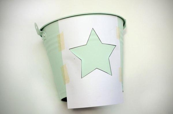 Stencil de estrella