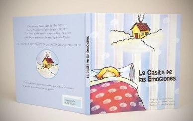 """Cuento """"La casita de las emociones"""", para ayudar a los niños a trabajar sus emociones. Desde los 2 años."""