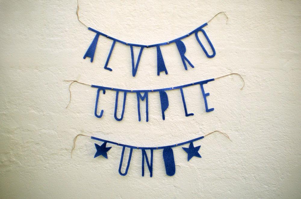 Diy Wedding Word Banners: DIY: Guirnalda De Letras 'word Banner'