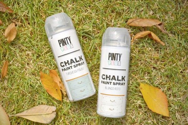 Chalk paint spray Pinty Plus.