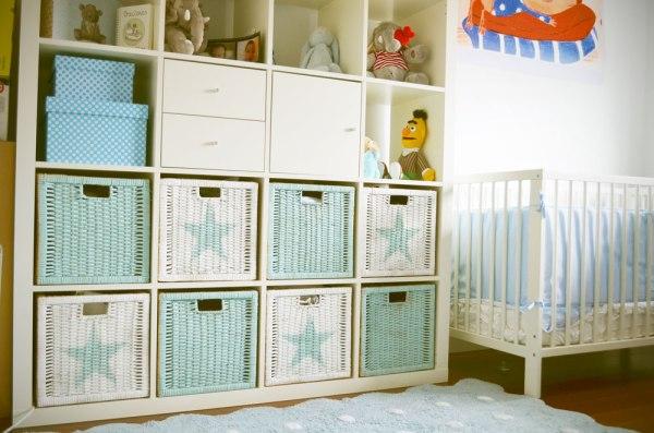 Poner orden con estilo en la habitación del bebé