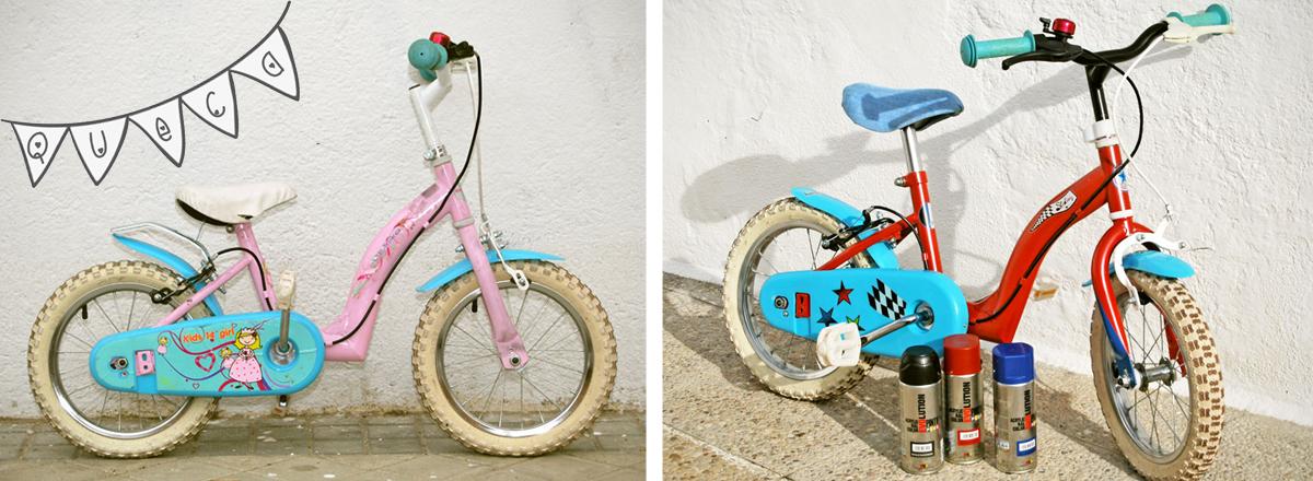DIY: Cómo renovar tu bici vieja – QuecaCoqueta