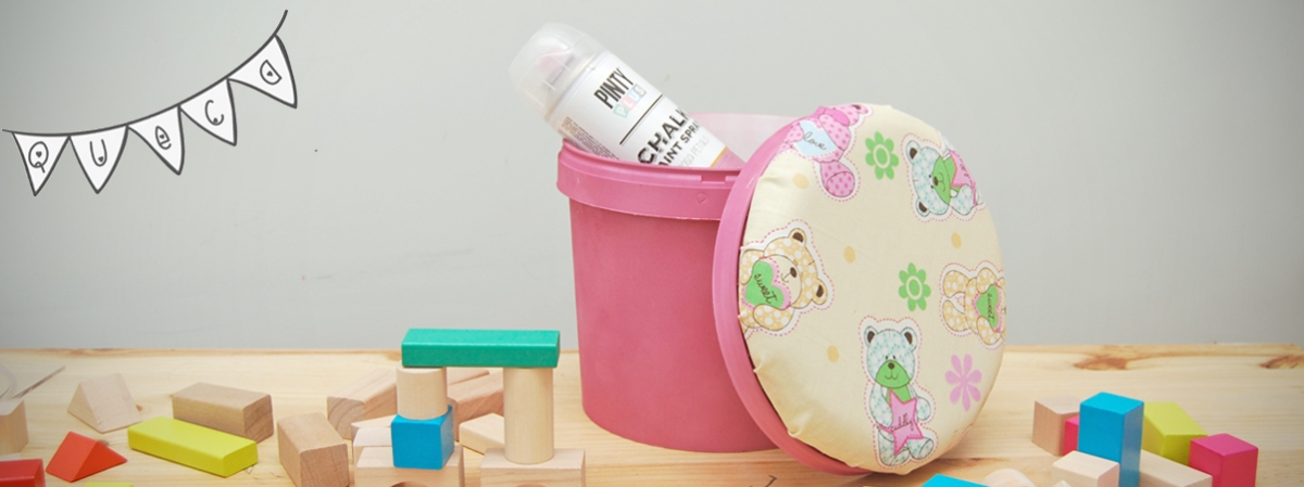 DIY: Butaca guarda juguetes